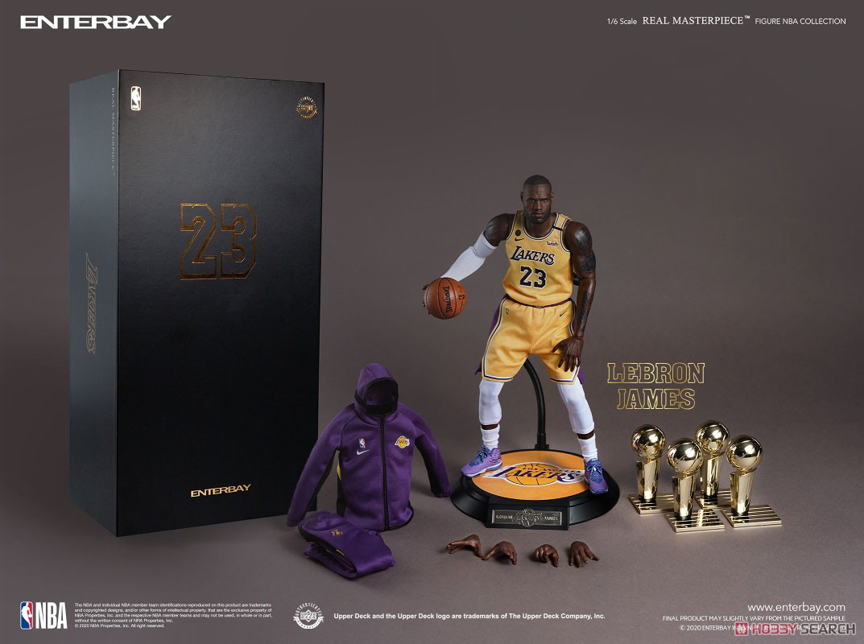 リアルマスターピース NBAコレクション『レブロン・ジェームズ  LAレイカーズver』1/6 コレクティブルフィギュア-007