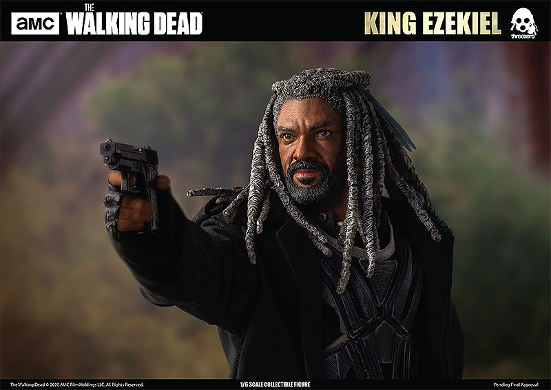 THE WALKING DEAD『KING EZEKIEL(キング・エゼキエル)』ウォーキング・デッド 可動フィギュア-008
