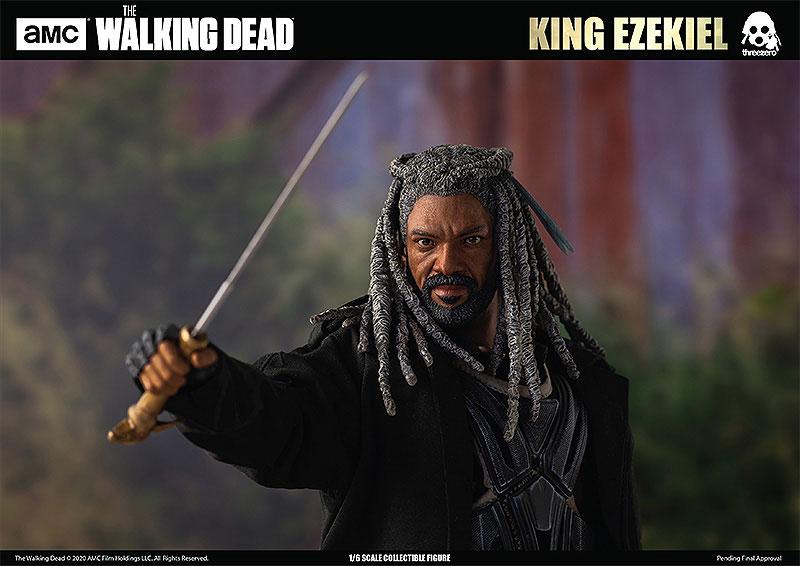 THE WALKING DEAD『KING EZEKIEL(キング・エゼキエル)』ウォーキング・デッド 可動フィギュア-010