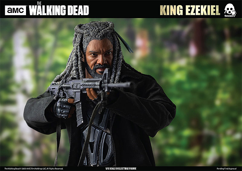 THE WALKING DEAD『KING EZEKIEL(キング・エゼキエル)』ウォーキング・デッド 可動フィギュア-013