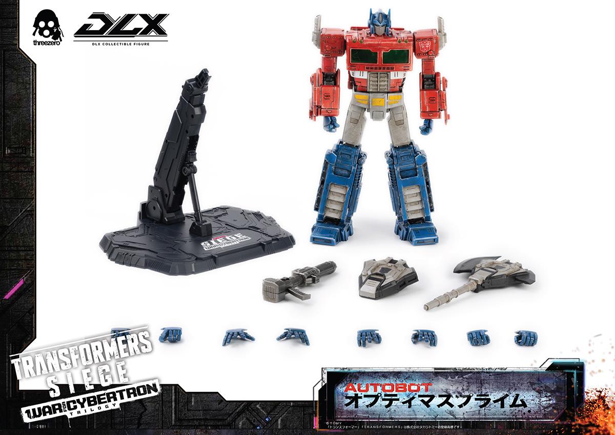 DLXスケール『オプティマスプライム/DLX Optimus Prime』Transformers: War For Cybertron Trilogy: Siege トランスフォーマー:ウォー・フォー・サイバトロン・トリロジー 可動フィギュア-001