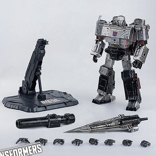 DLXスケール『メガトロン/DLX Megatron』Transformers: War For Cybertron Trilogy: Siege トランスフォーマー:ウォー・フォー・サイバトロン・トリロジー 可動フィギュア
