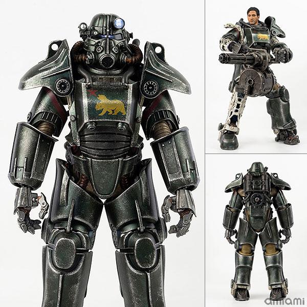 フォールアウト『T-45 NCR Salvaged Power Armor(NCRサルベージ パワーアーマー)』フォールアウト 1/6 可動フィギュア
