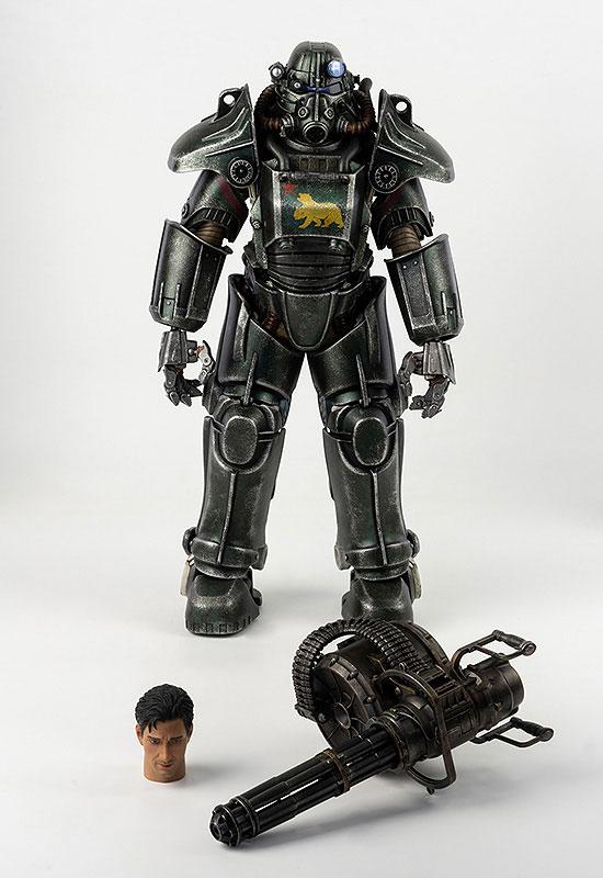 フォールアウト『T-45 NCR Salvaged Power Armor(NCRサルベージ パワーアーマー)』フォールアウト 1/6 可動フィギュア-001