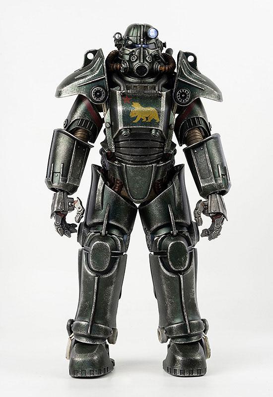 フォールアウト『T-45 NCR Salvaged Power Armor(NCRサルベージ パワーアーマー)』フォールアウト 1/6 可動フィギュア-002