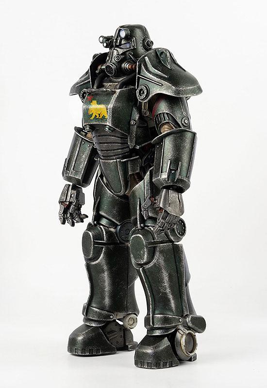 フォールアウト『T-45 NCR Salvaged Power Armor(NCRサルベージ パワーアーマー)』フォールアウト 1/6 可動フィギュア-003