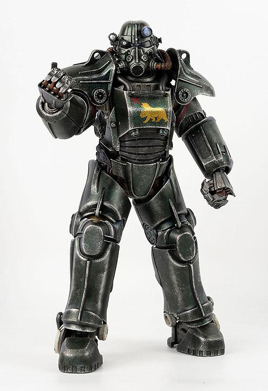 フォールアウト『T-45 NCR Salvaged Power Armor(NCRサルベージ パワーアーマー)』フォールアウト 1/6 可動フィギュア-006
