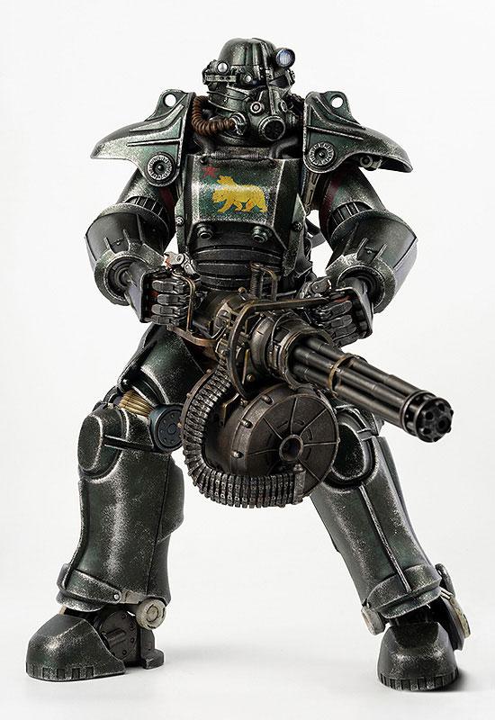 フォールアウト『T-45 NCR Salvaged Power Armor(NCRサルベージ パワーアーマー)』フォールアウト 1/6 可動フィギュア-007