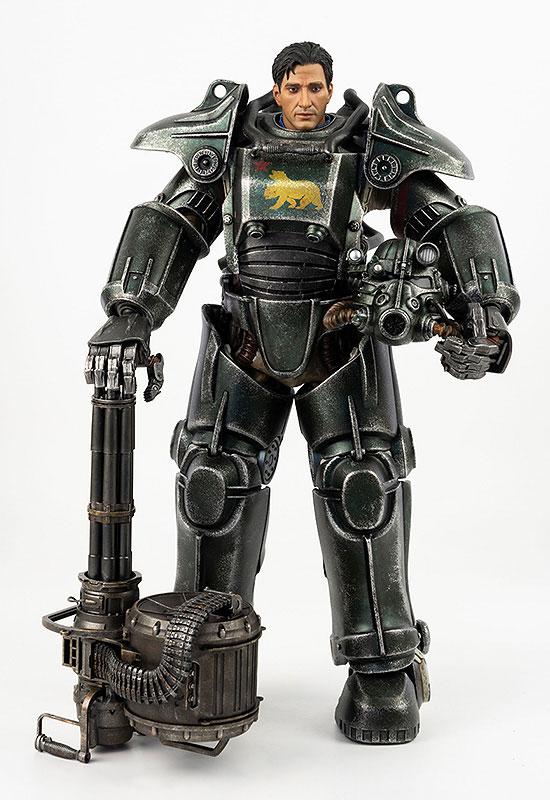 フォールアウト『T-45 NCR Salvaged Power Armor(NCRサルベージ パワーアーマー)』フォールアウト 1/6 可動フィギュア-008