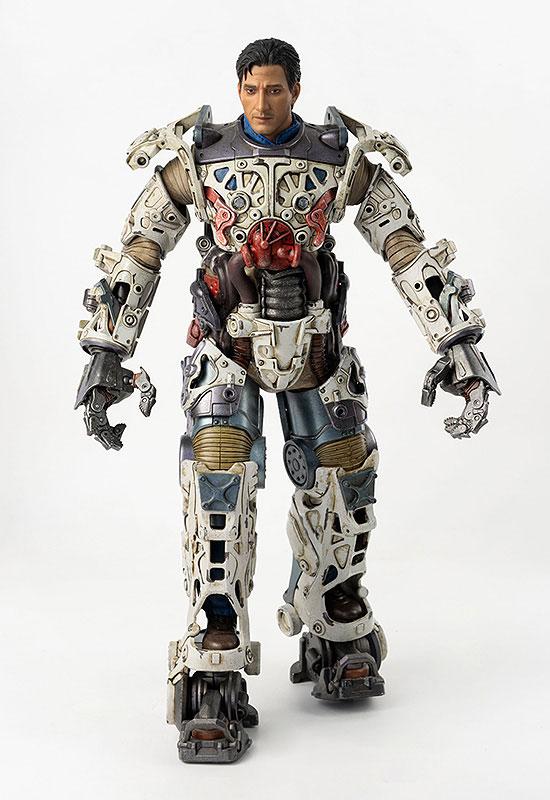 フォールアウト『T-45 NCR Salvaged Power Armor(NCRサルベージ パワーアーマー)』フォールアウト 1/6 可動フィギュア-010