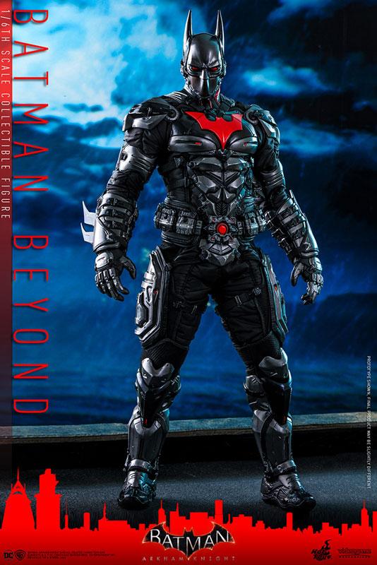 ビデオゲーム・マスターピース『バットマン ザ フューチャー版』バットマン:アーカム・ナイト 可動フィギュア-001