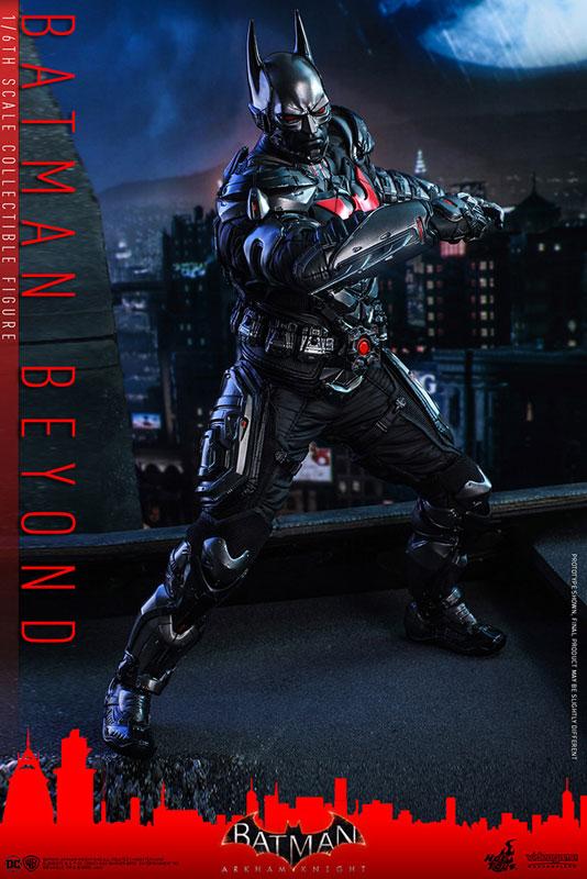 ビデオゲーム・マスターピース『バットマン ザ フューチャー版』バットマン:アーカム・ナイト 可動フィギュア-003