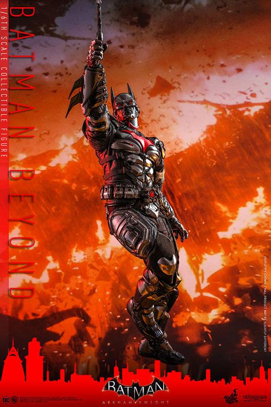 ビデオゲーム・マスターピース『バットマン ザ フューチャー版』バットマン:アーカム・ナイト 可動フィギュア-010