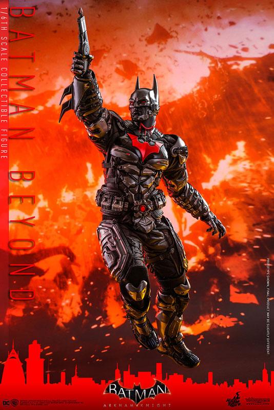 ビデオゲーム・マスターピース『バットマン ザ フューチャー版』バットマン:アーカム・ナイト 可動フィギュア-011
