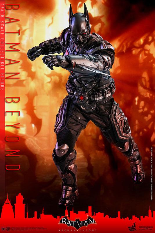 ビデオゲーム・マスターピース『バットマン ザ フューチャー版』バットマン:アーカム・ナイト 可動フィギュア-013