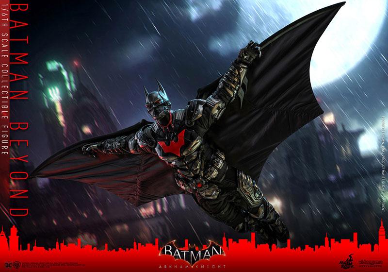 ビデオゲーム・マスターピース『バットマン ザ フューチャー版』バットマン:アーカム・ナイト 可動フィギュア-014
