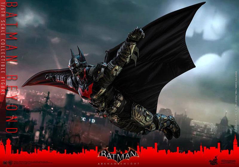 ビデオゲーム・マスターピース『バットマン ザ フューチャー版』バットマン:アーカム・ナイト 可動フィギュア-015