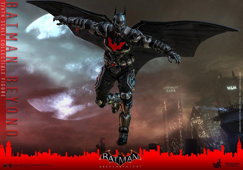ビデオゲーム・マスターピース『バットマン ザ フューチャー版』バットマン:アーカム・ナイト 可動フィギュア-016