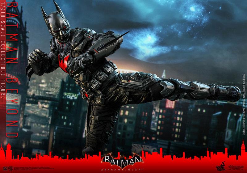 ビデオゲーム・マスターピース『バットマン ザ フューチャー版』バットマン:アーカム・ナイト 可動フィギュア-017