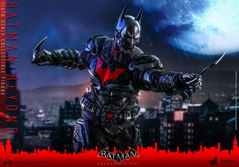 ビデオゲーム・マスターピース『バットマン ザ フューチャー版』バットマン:アーカム・ナイト 可動フィギュア-018