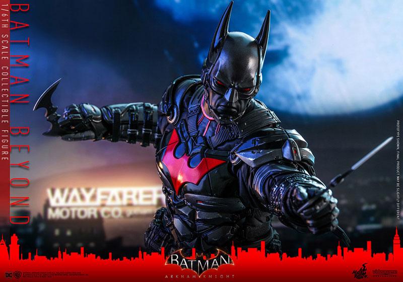 ビデオゲーム・マスターピース『バットマン ザ フューチャー版』バットマン:アーカム・ナイト 可動フィギュア-019