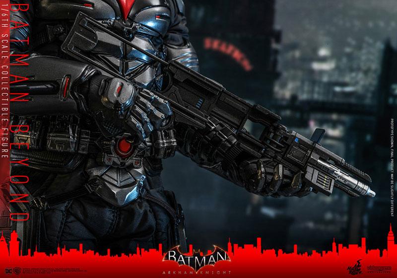 ビデオゲーム・マスターピース『バットマン ザ フューチャー版』バットマン:アーカム・ナイト 可動フィギュア-021
