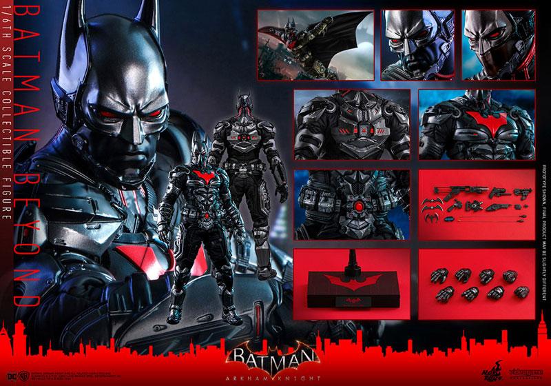 ビデオゲーム・マスターピース『バットマン ザ フューチャー版』バットマン:アーカム・ナイト 可動フィギュア-022