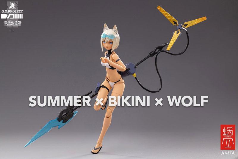 【限定販売】G.N.PROJECT 第1.5弾『WOLF-001 水着素体・武装セット』1/12 可動フィギュア-016