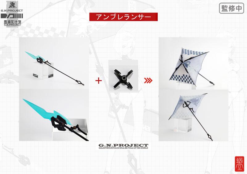 【限定販売】G.N.PROJECT 第1.5弾『WOLF-001 水着素体・武装セット』1/12 可動フィギュア-025