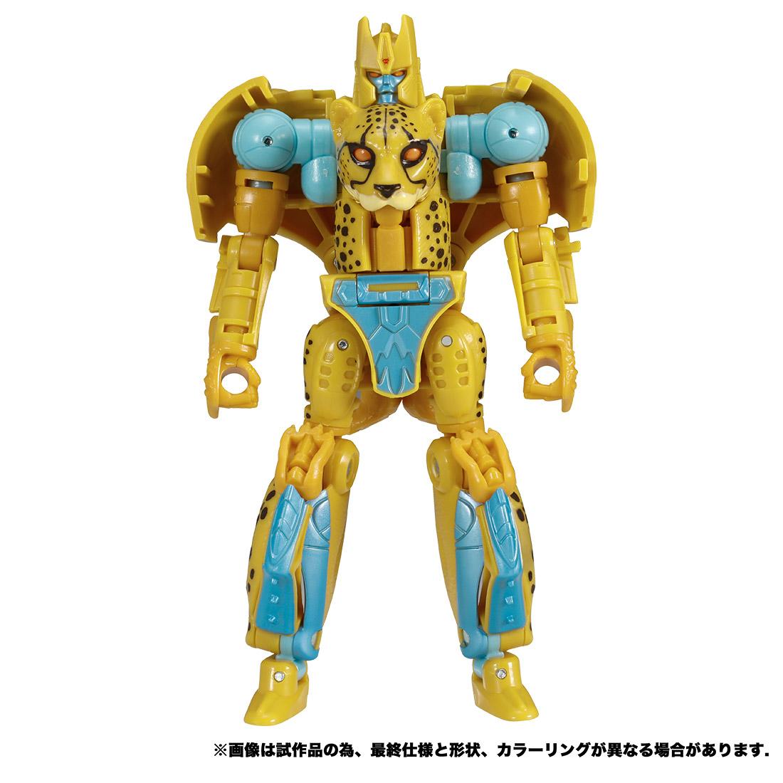 トランスフォーマー キングダム『KD-03 チーター』ビーストウォーズ 可変可動フィギュア-006