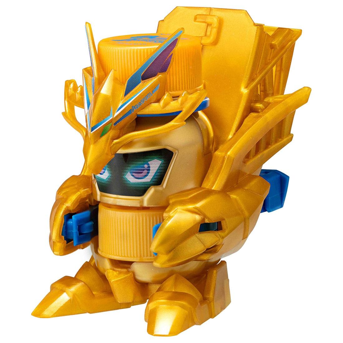 キャップ革命 ボトルマン『BOT-13 アクアスポーツ GOLD』おもちゃ-001