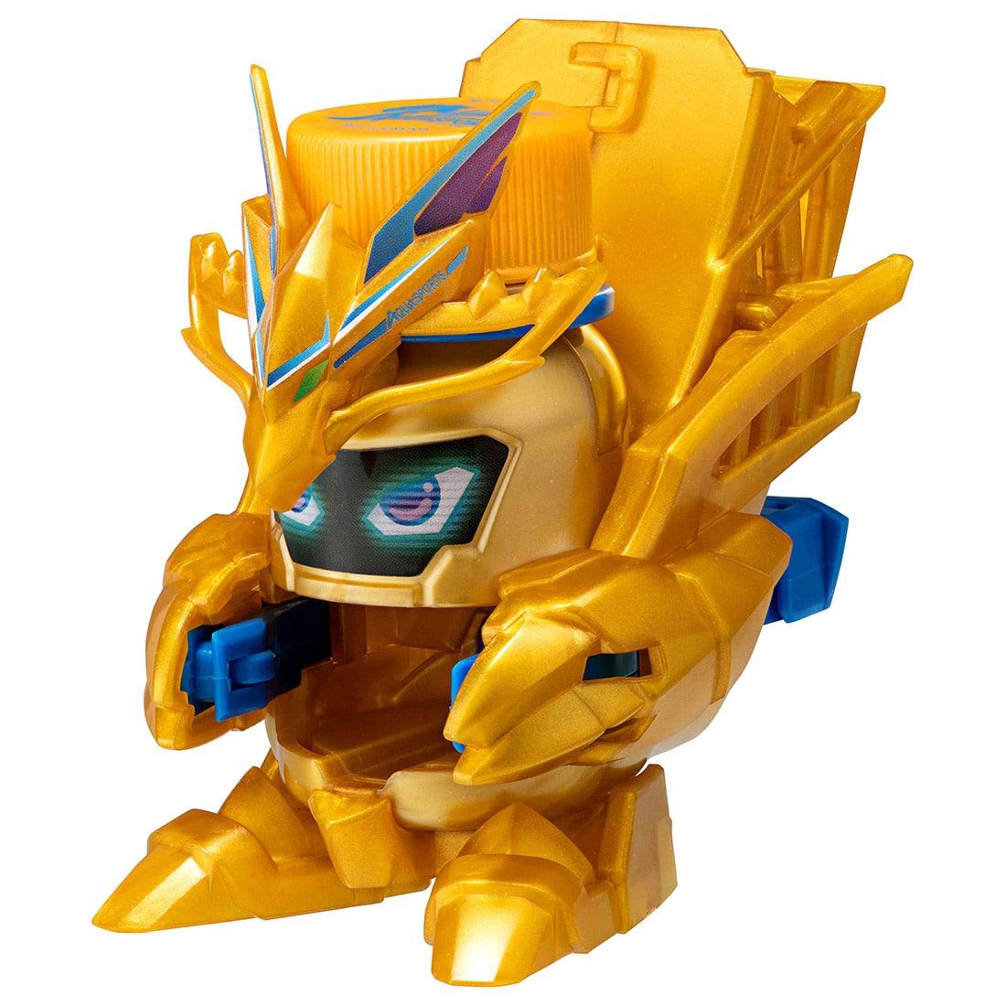 キャップ革命 ボトルマン『BOT-13 アクアスポーツ GOLD』おもちゃ-002