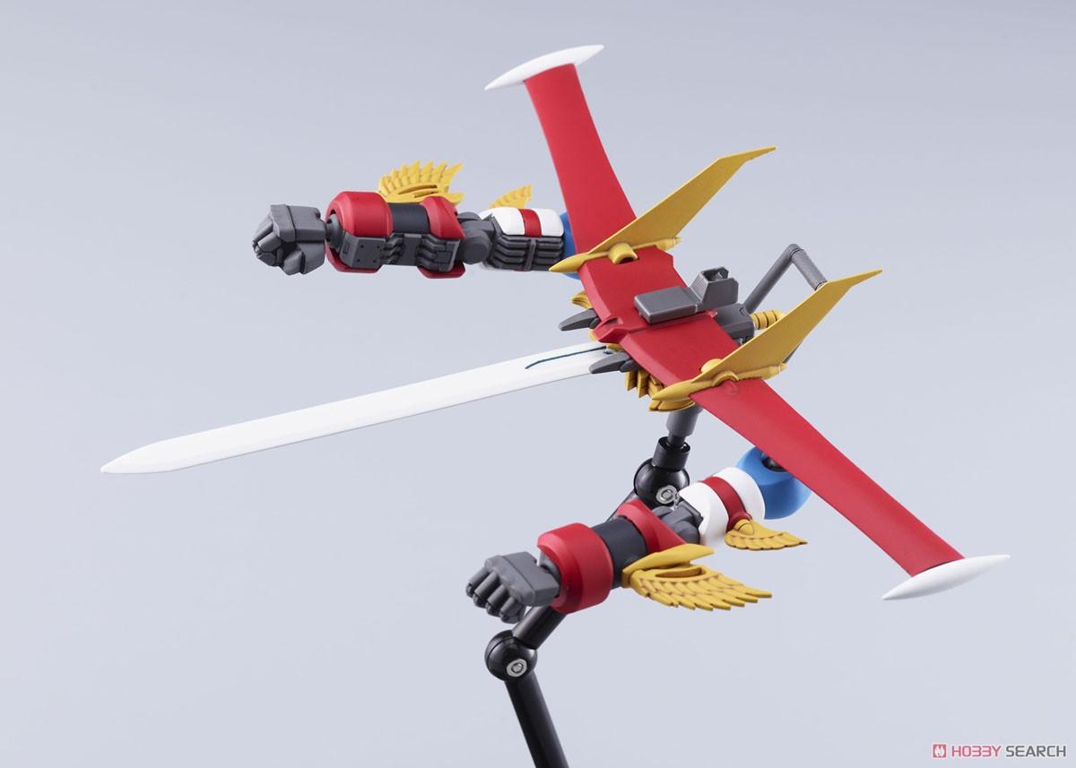 ACKS No.GR-01『合体 アトランジャー』プラモデル-009