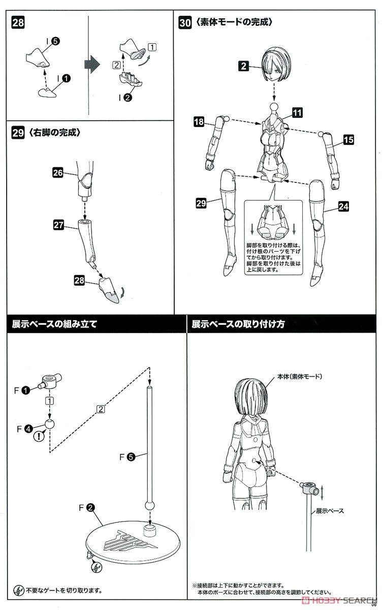 【再販】メガミデバイス『BULLET KNIGHTS ランチャー』プラモデル-032