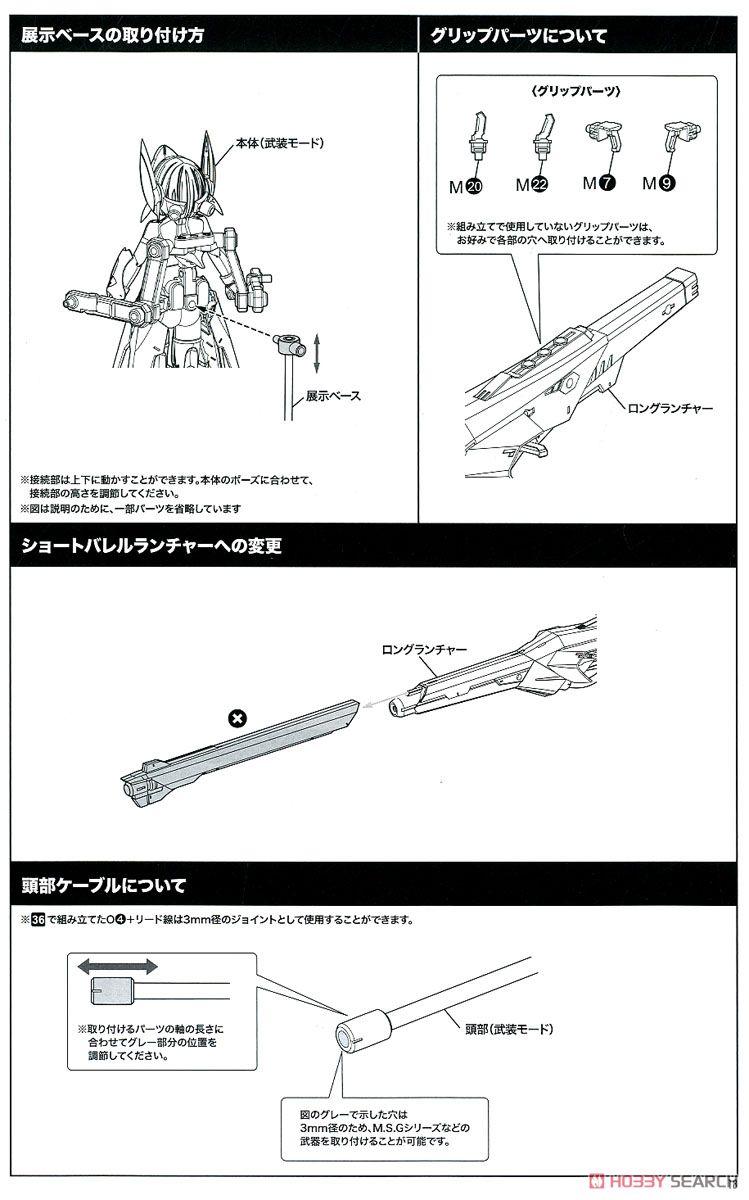 【再販】メガミデバイス『BULLET KNIGHTS ランチャー』プラモデル-042