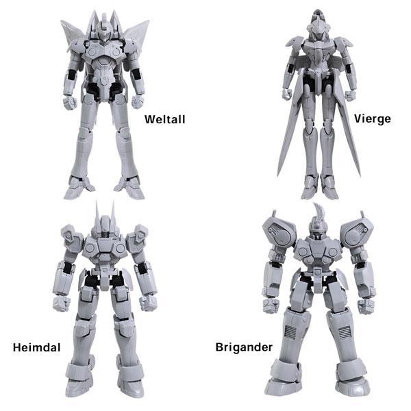 Xenogears『ゼノギアス ストラクチャーアーツ Vol.1』1/144 プラモデル 全4種BOX