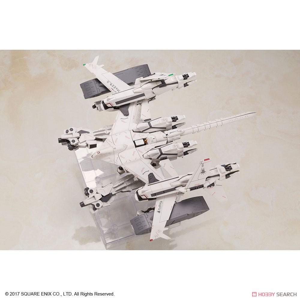【再販】ニーア オートマタ『飛行ユニット Ho229 Type-B & 2B(ヨルハ二号B型)』プラスチックモデルキット-006