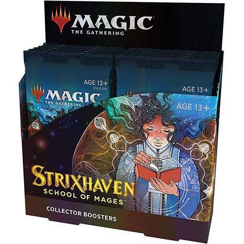 【英語版】MTG『ストリクスヘイヴン:魔法学院[コレクター・ブースター]英語版』12パック入りBOX