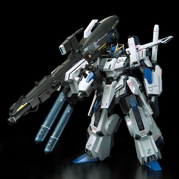 【限定販売】MG 1/100『ガンダムベース限定 FAZZ Ver.Ka[チタニウムフィニッシュ]』ガンダム・センチネル プラモデル