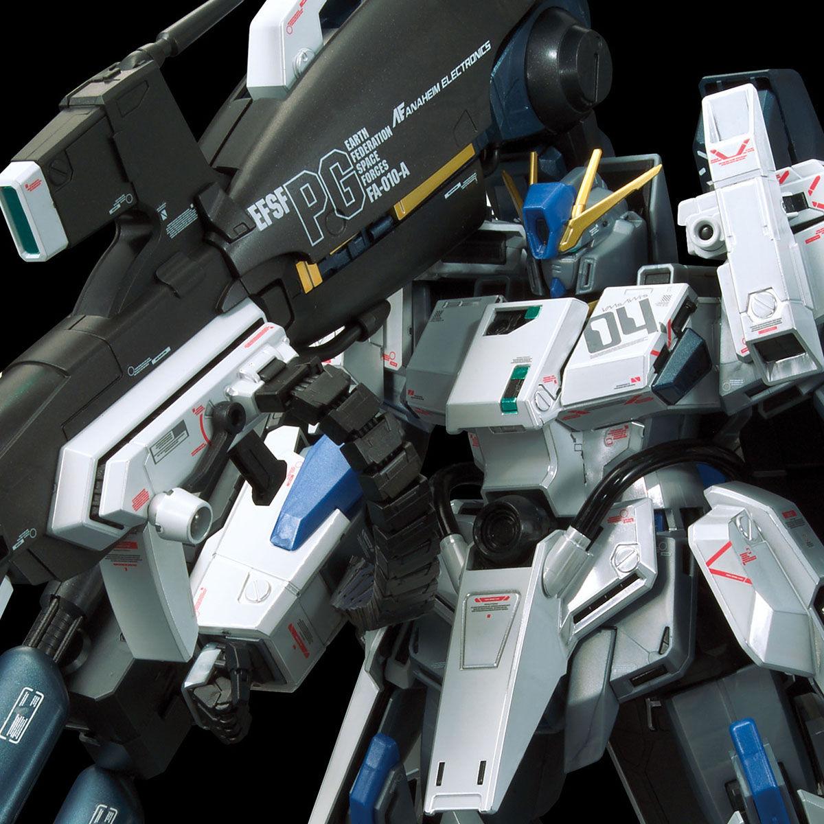 【限定販売】MG 1/100『ガンダムベース限定 FAZZ Ver.Ka[チタニウムフィニッシュ]』ガンダム・センチネル プラモデル-001