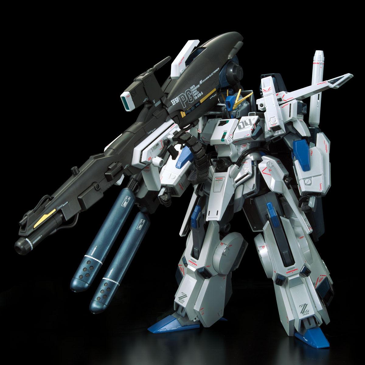 【限定販売】MG 1/100『ガンダムベース限定 FAZZ Ver.Ka[チタニウムフィニッシュ]』ガンダム・センチネル プラモデル-002