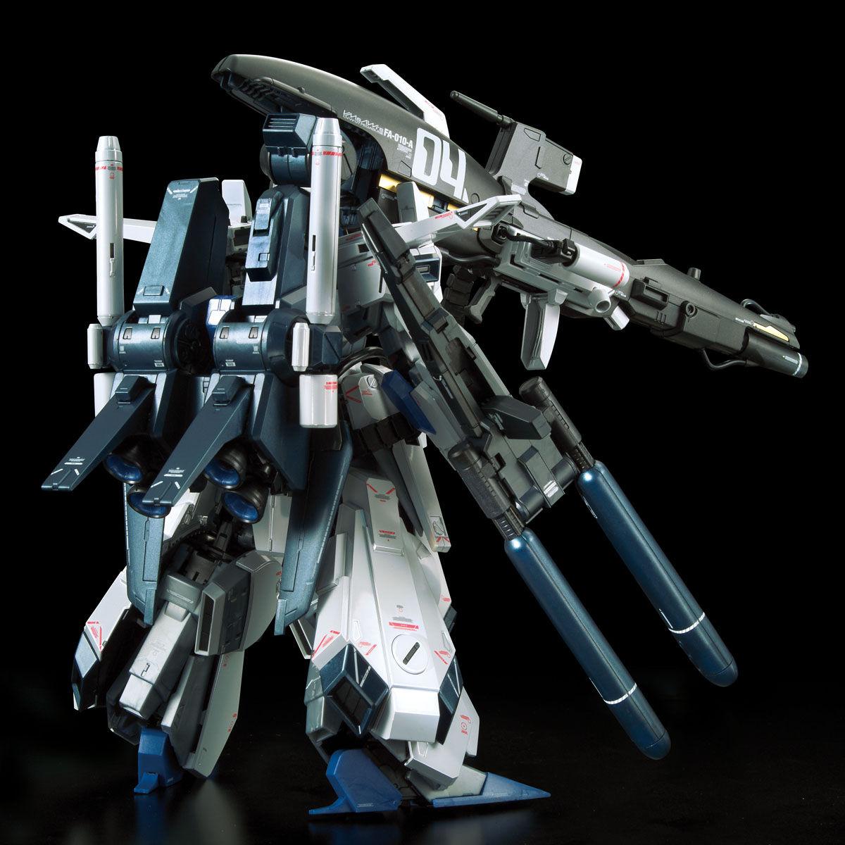 【限定販売】MG 1/100『ガンダムベース限定 FAZZ Ver.Ka[チタニウムフィニッシュ]』ガンダム・センチネル プラモデル-003
