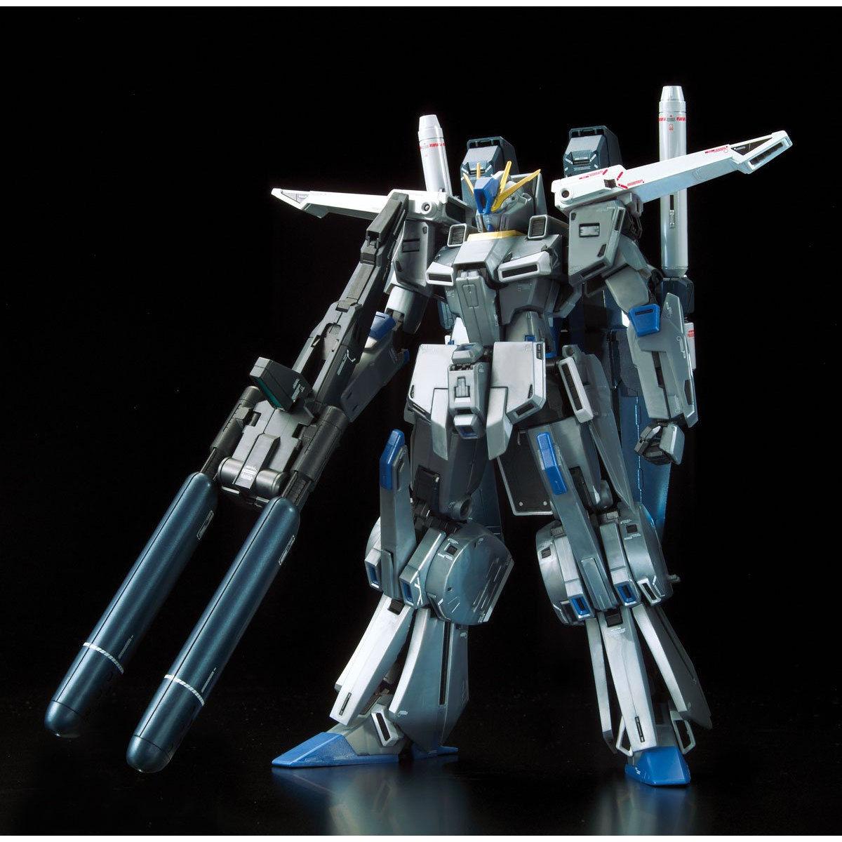【限定販売】MG 1/100『ガンダムベース限定 FAZZ Ver.Ka[チタニウムフィニッシュ]』ガンダム・センチネル プラモデル-004