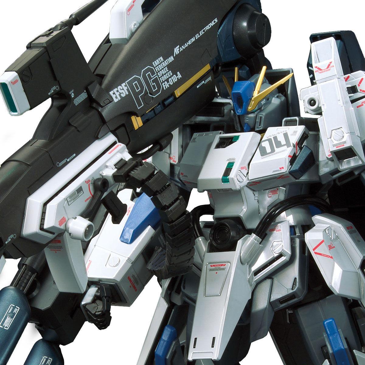 【限定販売】MG 1/100『ガンダムベース限定 FAZZ Ver.Ka[チタニウムフィニッシュ]』ガンダム・センチネル プラモデル-008