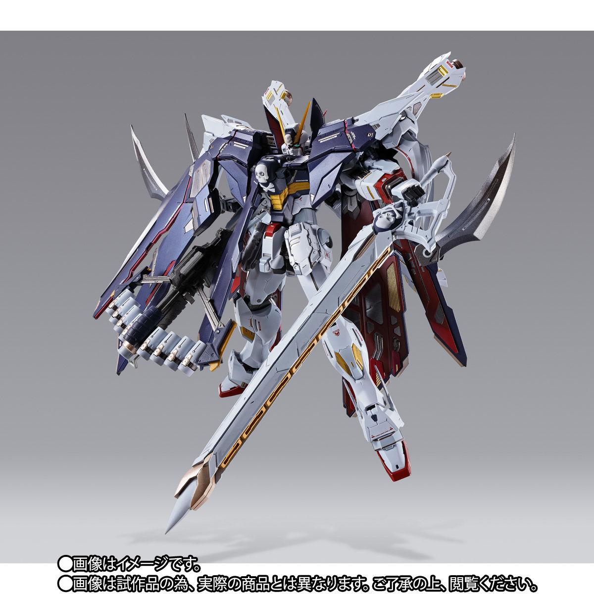 METAL BUILD『クロスボーン・ガンダムX1 フルクロス』機動戦士クロスボーン・ガンダム 可動フィギュア-002