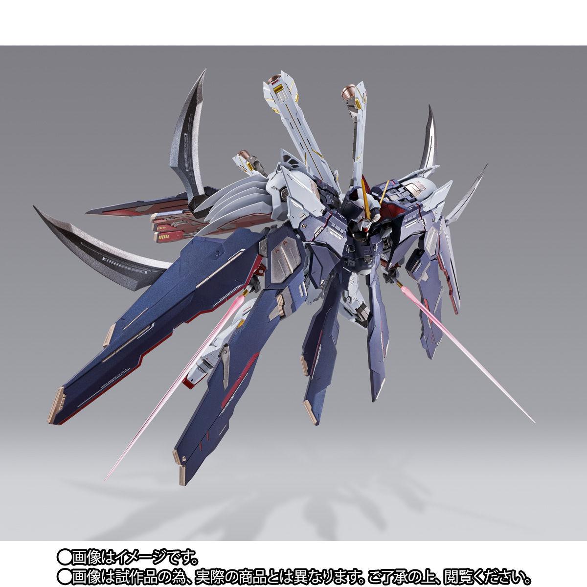 METAL BUILD『クロスボーン・ガンダムX1 フルクロス』機動戦士クロスボーン・ガンダム 可動フィギュア-007