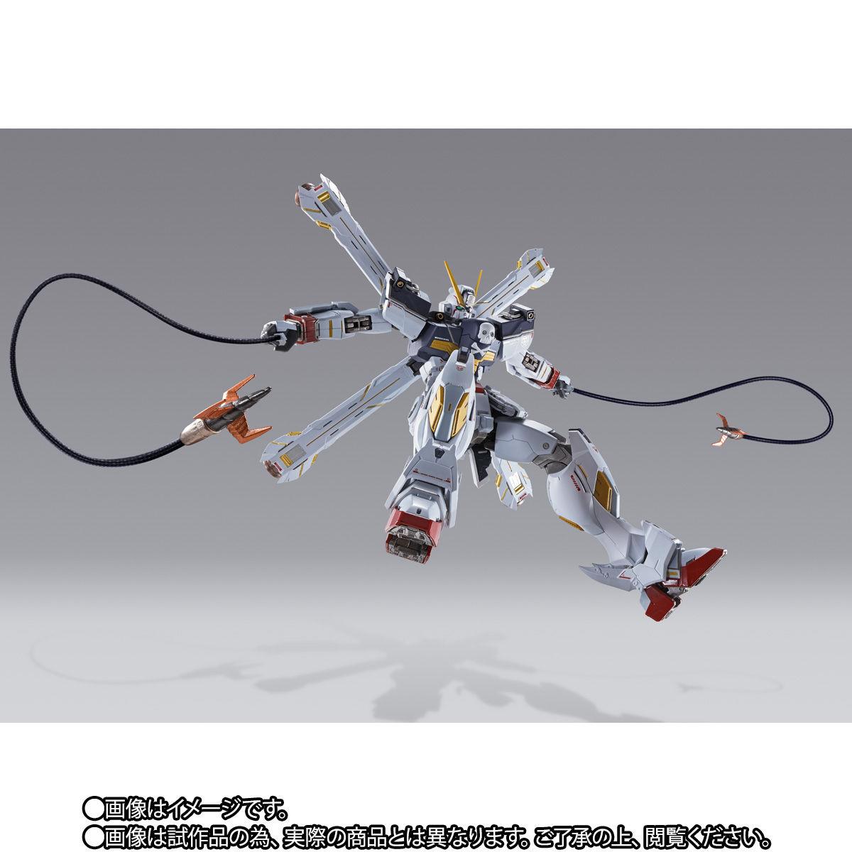 METAL BUILD『クロスボーン・ガンダムX1 フルクロス』機動戦士クロスボーン・ガンダム 可動フィギュア-009