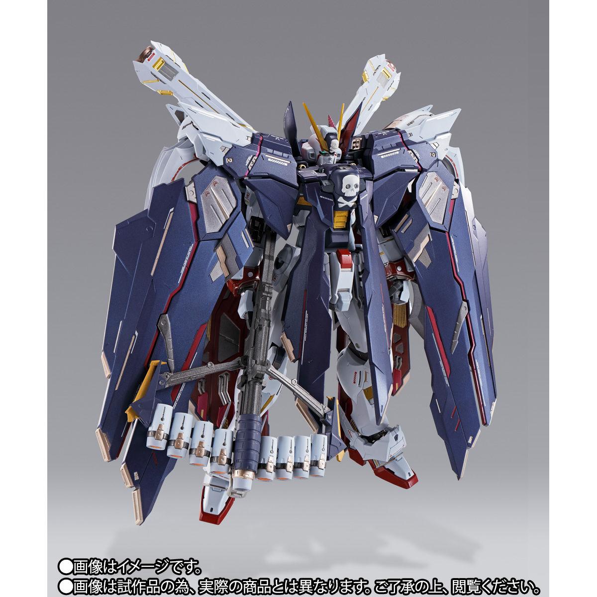METAL BUILD『クロスボーン・ガンダムX1 フルクロス』機動戦士クロスボーン・ガンダム 可動フィギュア-010