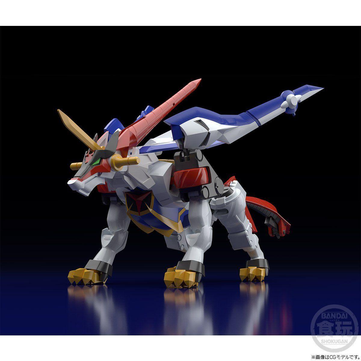 【限定販売】【食玩】スーパーミニプラ『超獣王 輝刃』GEAR戦士電童 プラモデル-002
