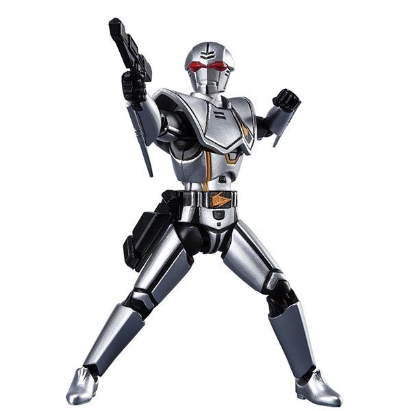 【限定販売】【食玩】SHODO SUPER『バイオハンター・シルバ』超電子バイオマン 可動フィギュア